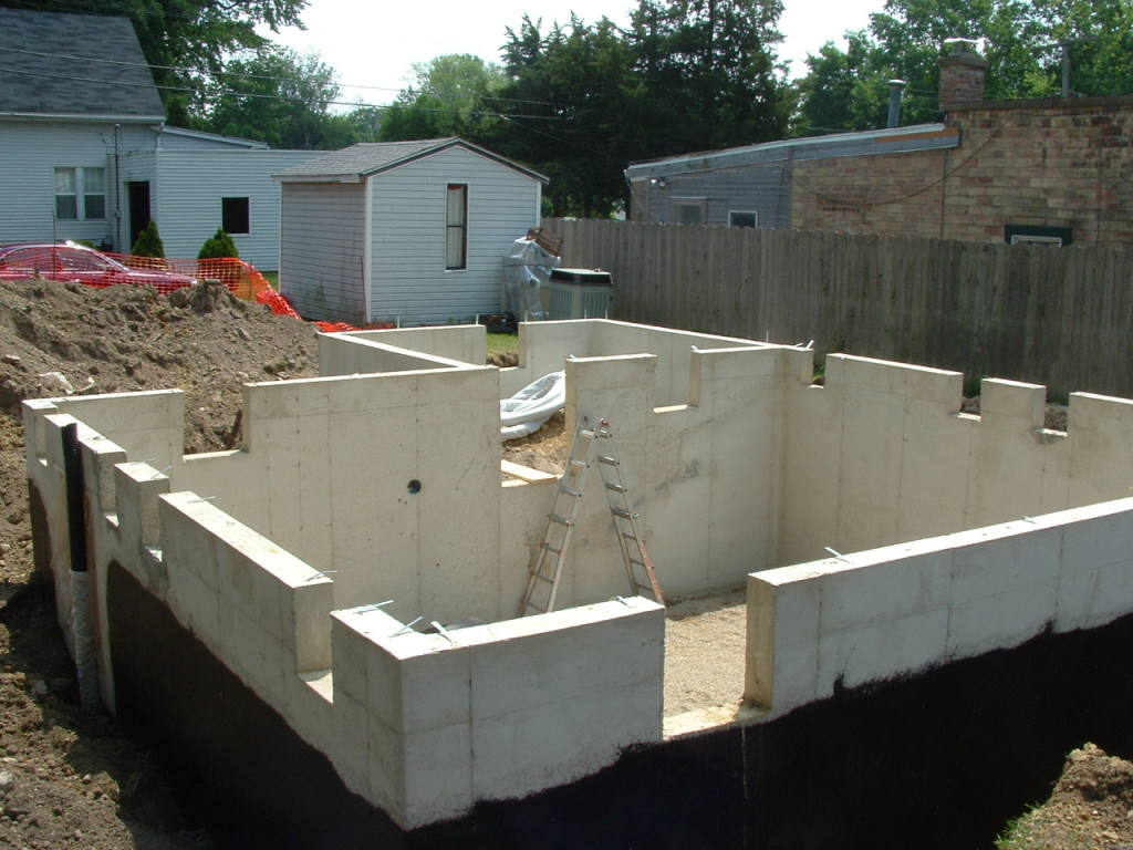 House relocation for Foundations for homes